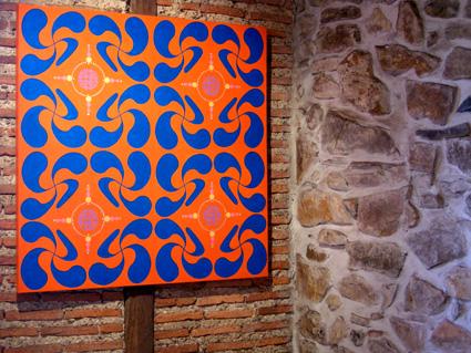 Lauburu-orange